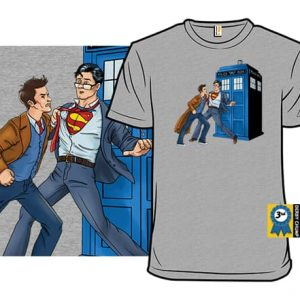 Superman/Doctor Who T-Shirt