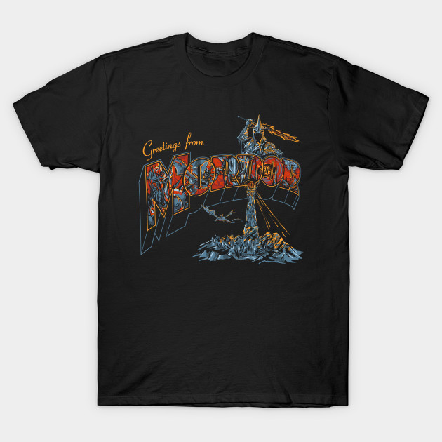greetings from mordor T-Shirt