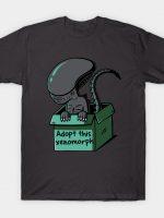 Adopt this xenomorph T-Shirt