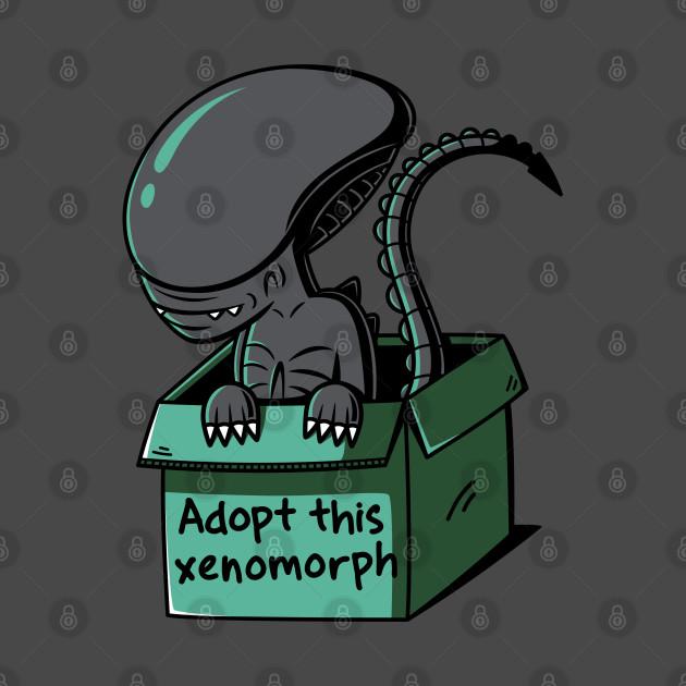 Adopt this xenomorph