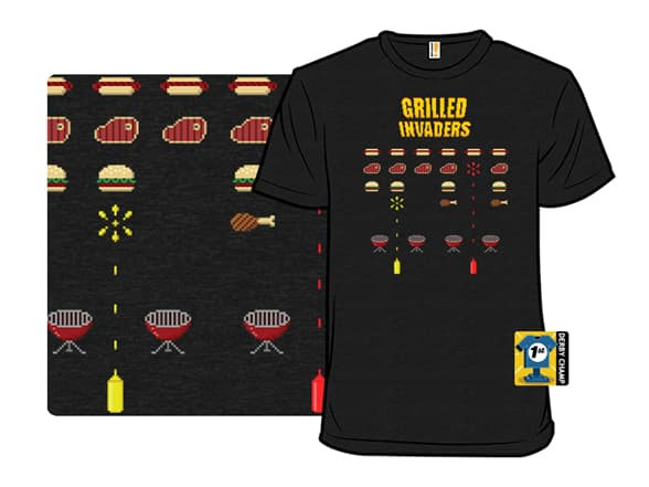 Grilled Invaders T-Shirt
