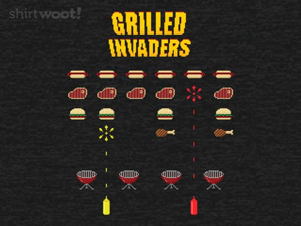 Grilled Invaders