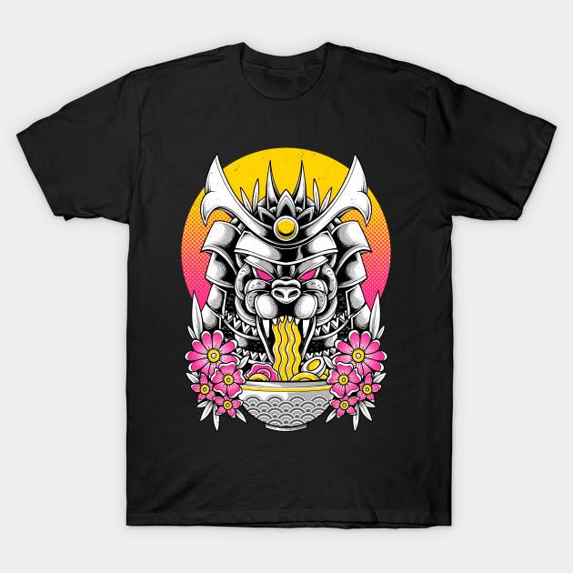 Samurai Kaiju Ramen T-Shirt