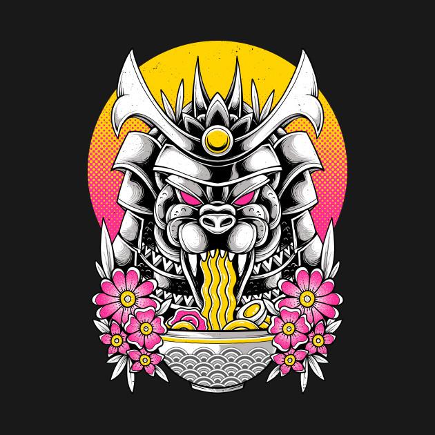 Samurai Kaiju Ramen