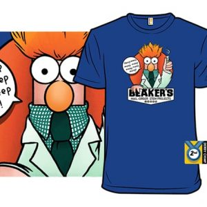 Beaker's Mail-Order STEM Projects T-Shirt