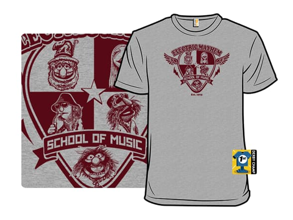 Electric Mayhem School of Music T-Shirt