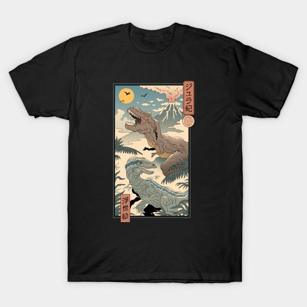 Jurassic Ukiyo-e 2 T-Shirt