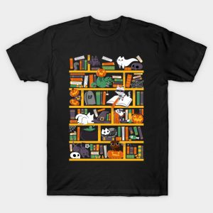 Halloween Library T-Shirt