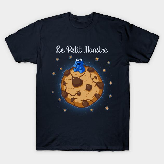 Le Petit Monstre - Cookie Monster T-Shirt