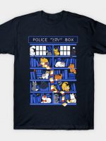 Library Box Who T-Shirt