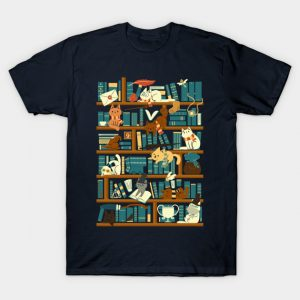 Library Magic School T-Shirt