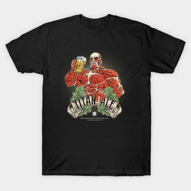 Attack on Titan Shiganshina Brewing Company T-Shirt