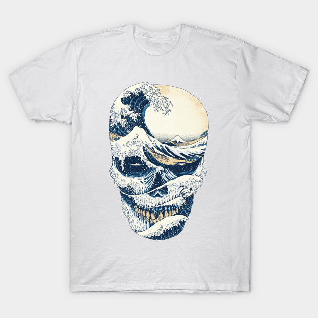 The Great Wave off Skull T-Shirt