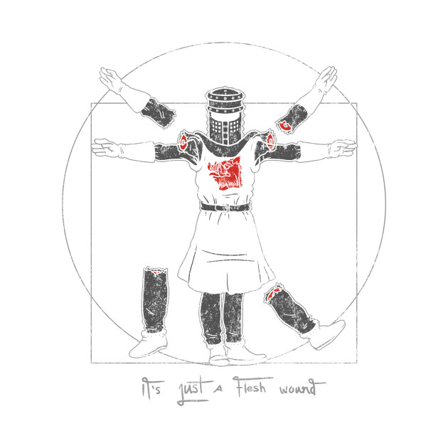 Vitruvian Black Knight