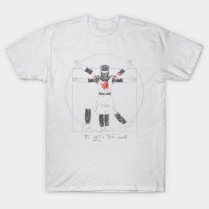 Vitruvian Black Knight T-Shirt