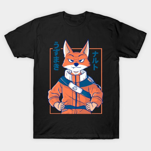 Anime Fox - Naruto T-Shirt