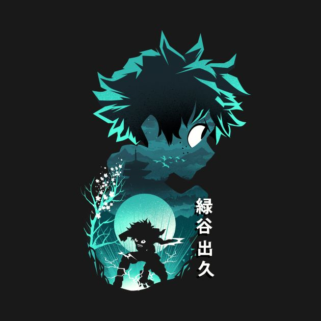 Anime Hero Deku