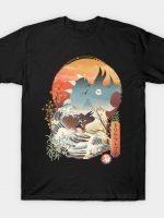Blue Ranger Ukiyo e T-Shirt
