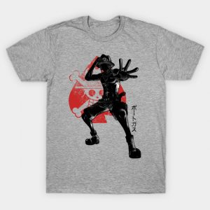 Crimson Brother One Piece T-Shirt