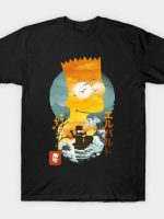El Barto Ukiyo E T-Shirt
