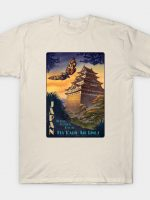Fly Mothra Airlines T-Shirt
