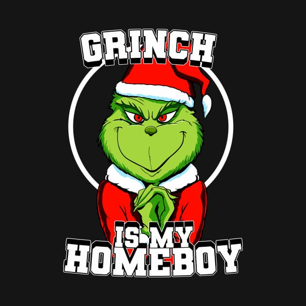 Grinch is my homeboy (colour)