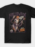 Halloween Rocks Spooky Skellington Rocker T-Shirt