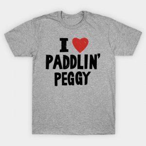 I Love Paddlin' Peggy