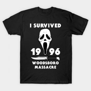 I survived woodsboro massacre Scream T-Shirt
