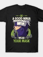 Kakashi Good Ninja Mask T-Shirt