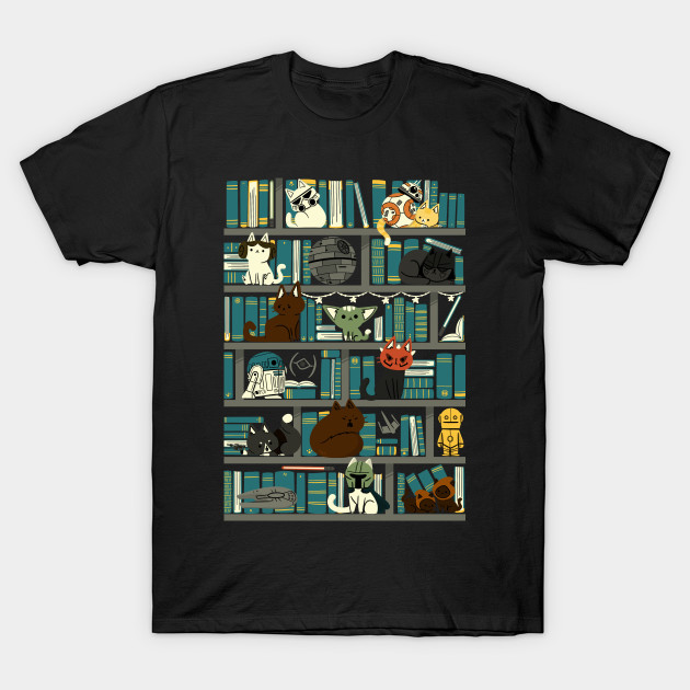 Library Kitten Wars T-Shirt