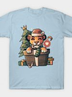 Lion Gift Cute Funny Christmas T-Shirt
