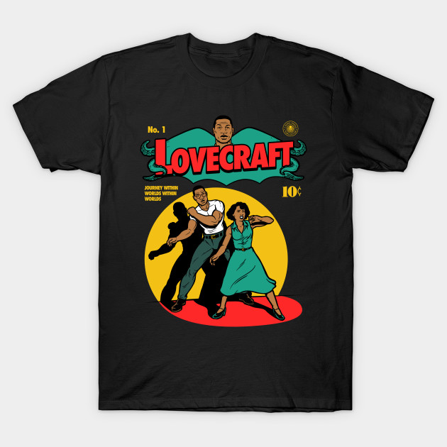 Lovecraft Country Comic T-Shirt