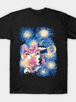 Magical Owl's Starry Night T-Shirt