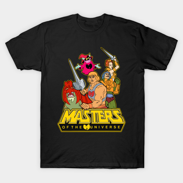 Masters of the Wuniverse - He-Wu T-Shirt