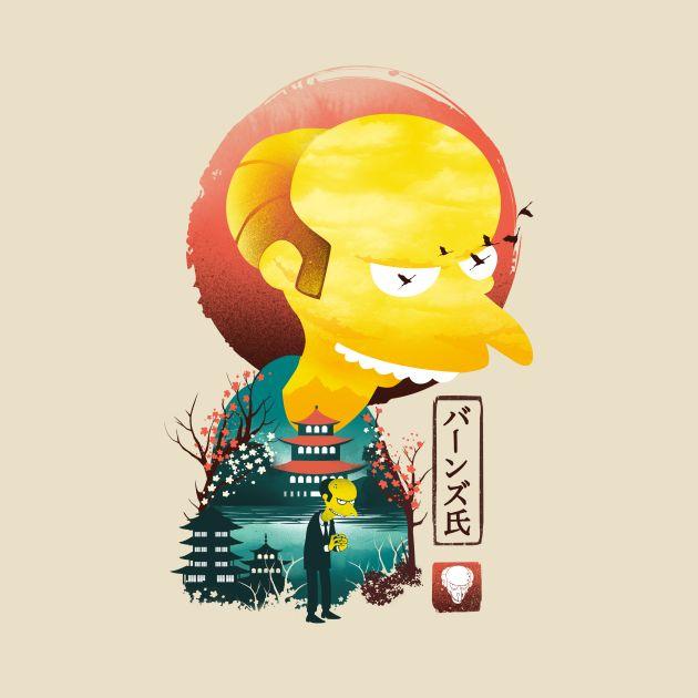 Mr. Burns Ukiyo E