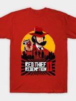 Red Thief Redemption T-Shirt