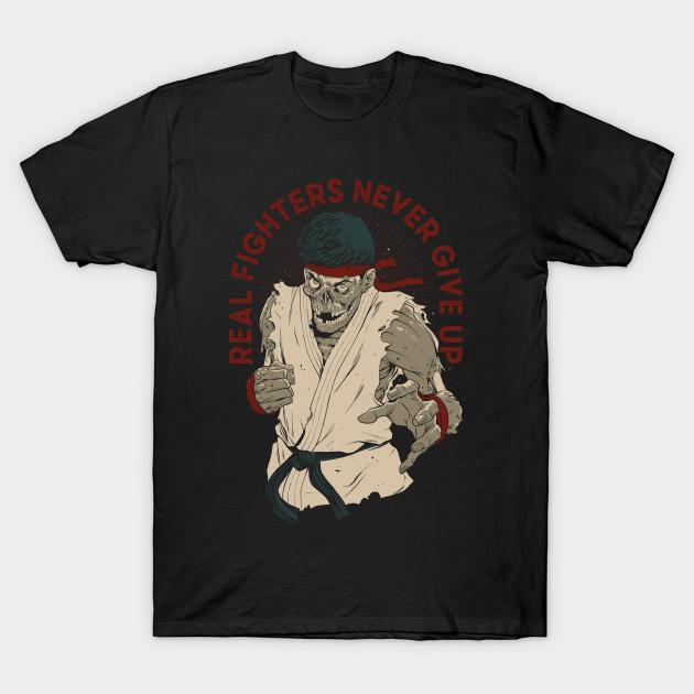Street Fighter Ryu Zombie T-Shirt