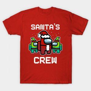 Santa's Crew - Among Us T-Shirt
