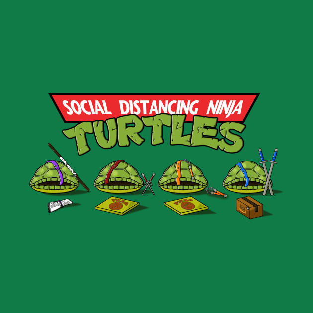 Social Distancing Turtles