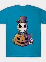 Spooky Jack Scary Pumpkin Halloween T-Shirt