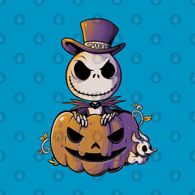 Spooky Jack Scary Pumpkin Halloween