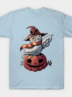 Spooky Magic Cute Funny Pumpkin Owl T-Shirt