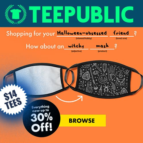 TeePublic 30 Percent Off Wide