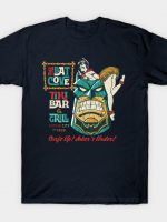 The Batcove Tiki Bar T-Shirt