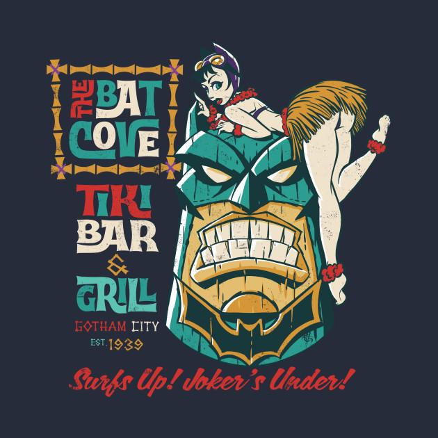 The Batcove Tiki Bar