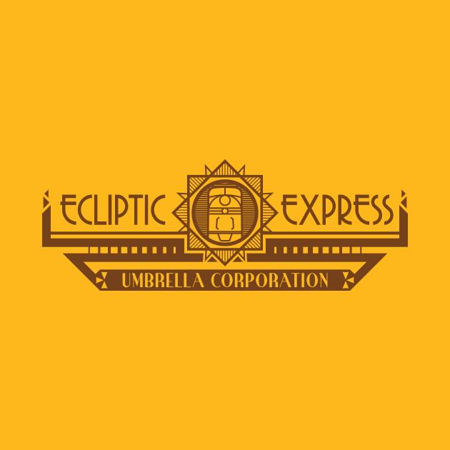 The Ecliptic Express (dark print)