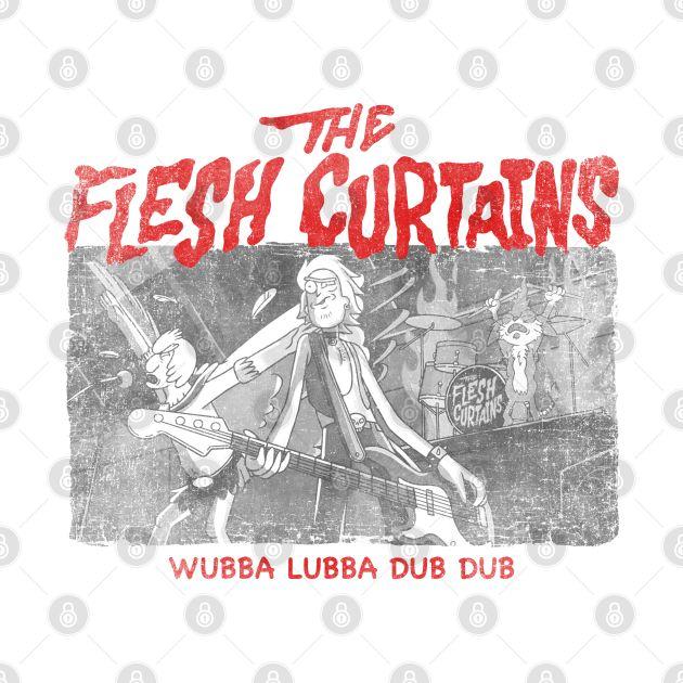 The Flesh Curtains