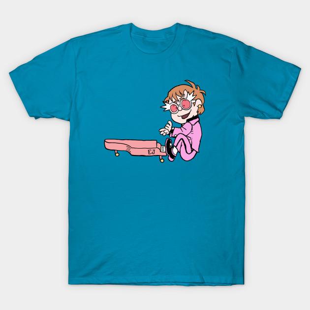 The Pink Peanuts - Elton Brown T-Shirt