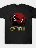 The adventures of Cow & Chicken T-Shirt